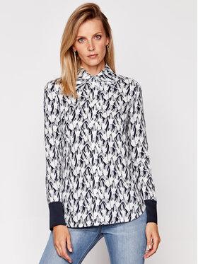 Victoria Victoria Beckham Victoria Victoria Beckham Koszula Printed Viscoze Twill 2420WSH002146B Kolorowy Regular Fit