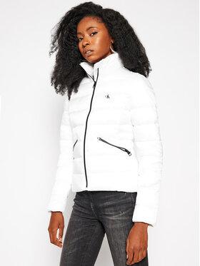 Calvin Klein Jeans Calvin Klein Jeans Daunenjacke Logo J20J214844 Weiß Regular Fit