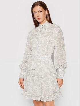 IXIAH IXIAH Sukienka letnia X211-80513 Biały Regular Fit
