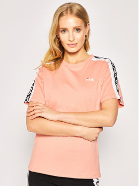Fila Fila T-Shirt Tandy 687686 Pomarańczowy Regular Fit