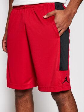 Nike Nike Sportovní kraťasy Jordan Dri-Fit Air CD5064 Červená Standard Fit