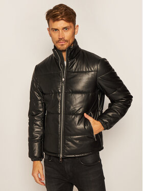 Armani Exchange Armani Exchange Giacca in similpelle 6HZB10 ZNNFZ 1200 Nero Regular Fit