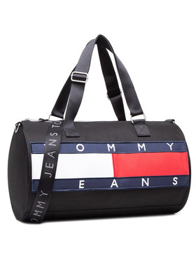 Tommy Jeans Tommy Jeans Σάκος Tjm Heritage Duffle AM0AM07145 Μαύρο