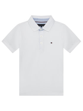 Tommy Hilfiger Tommy Hilfiger Polo Ithaca KB0KB06547 M Blanc Regular Fit