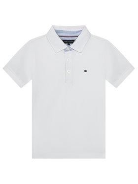 Tommy Hilfiger Tommy Hilfiger Polo marškinėliai Ithaca KB0KB06547 M Balta Regular Fit