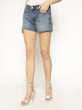 Calvin Klein Jeans Calvin Klein Jeans Džínsové šortky Mid Rise Denim J20J213350 Tmavomodrá Regular Fit