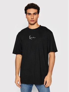Karl Kani Karl Kani T-Shirt Small Signature 6060584 Czarny Regular Fit
