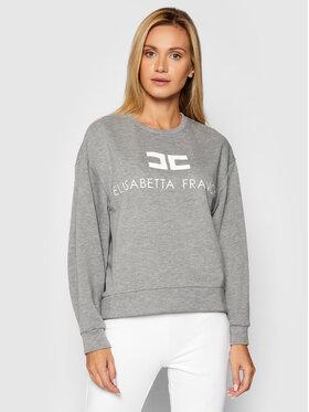 Elisabetta Franchi Elisabetta Franchi Sweatshirt MD-001-16E2-V180 Gris Regular Fit
