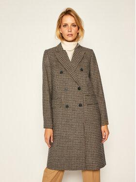 TOMMY HILFIGER TOMMY HILFIGER Płaszcz przejściowy Blend Pattern WW0WW29135 Kolorowy Regular Fit