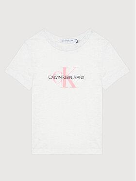 Calvin Klein Jeans Calvin Klein Jeans Póló Monogram Logo IU0IU00068 Szürke Regular Fit