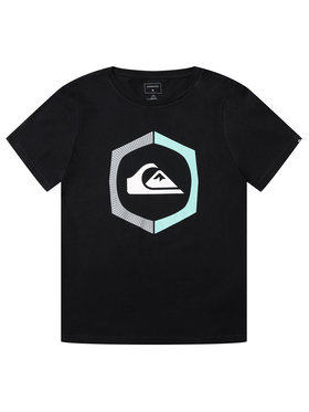 Quiksilver Quiksilver T-Shirt Sure Thing EQBZT04140 Czarny Regular Fit