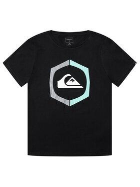 Quiksilver Quiksilver T-Shirt Sure Thing EQBZT04140 Schwarz Regular Fit