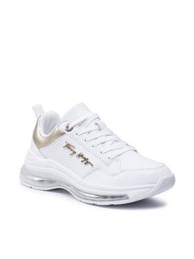 Tommy Hilfiger Tommy Hilfiger Sneakersy City Air Runner Metallic FW0FW05797 Biały