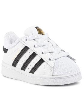 adidas adidas Batai Superstar El I FU7717 Balta