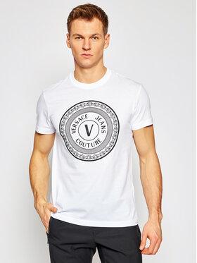 Versace Jeans Couture Versace Jeans Couture Tričko B3GWA7TD Biela Slim Fit
