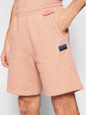 adidas adidas Спортни шорти R.Y.V. Abstract Trefoil GN3287 Розов Regular Fit