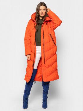 NIKE NIKE Vatovaná bunda Sportswear BV2881 Oranžová Loose Fit