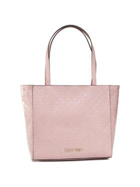 Calvin Klein Calvin Klein Rankinė Ck Must Em Shopper Sm K60K606761 Rožinė
