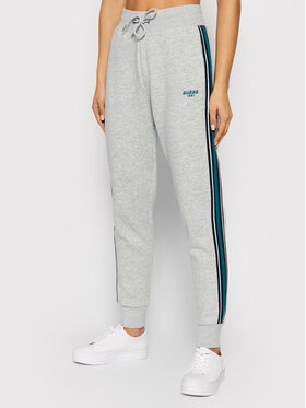 Guess Guess Спортивні штани Abigal O1RA32 K9Z21 Сірий Regular Fit