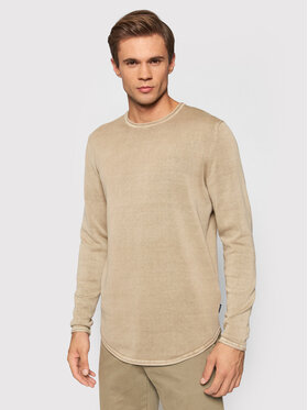 Only & Sons Only & Sons Manches longues Garson 22021094 Beige Regular Fit
