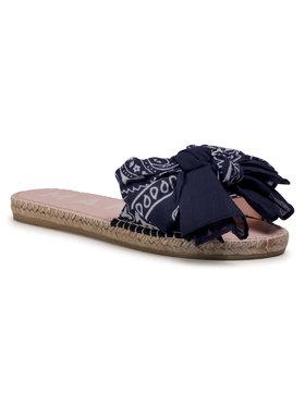 Manebi Manebi Espadrilės Sandals With Bow F 9.6 J0 Tamsiai mėlyna