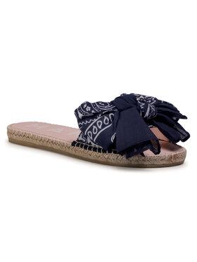 Manebi Manebi Espadrillas Sandals With Bow F 9.6 J0 Blu scuro