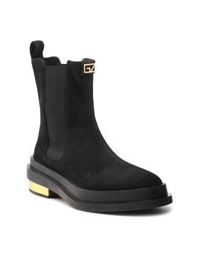 Giuseppe Zanotti Giuseppe Zanotti Kotníková obuv s elastickým prvkem I170025 002 Černá