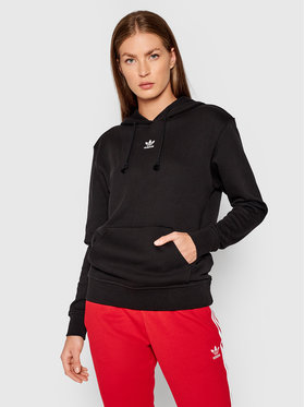 adidas adidas Bluză adicolor Essentials H06619 Negru Regular Fit