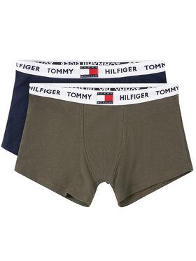 TOMMY HILFIGER TOMMY HILFIGER Σετ 2 ζευγάρια μποξεράκια 2P UB0UB00294 Έγχρωμο