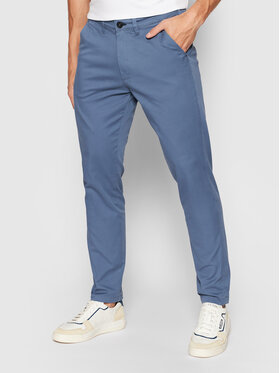 Selected Homme Selected Homme Chino nohavice Miles 16074054 Modrá Slim Fit