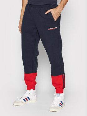adidas adidas Pantaloni da tuta 3-Stripes Split H31269 Blu scuro Regular Fit