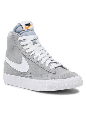 Nike Nike Sneakersy Blazer Mid '77 Suede (Gs) D3237 001 Sivá