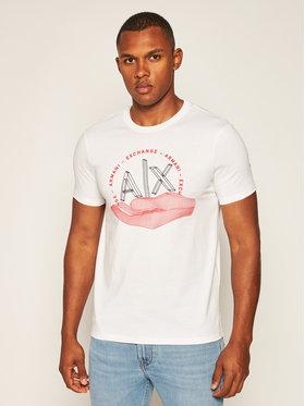 Armani Exchange Armani Exchange T-shirt 6HZTAN ZJN7Z 1100 Bianco Slim Fit