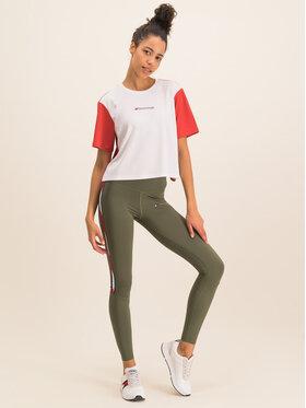 Tommy Sport Tommy Sport T-shirt Boxy S10S100381 Bianco Regular Fit