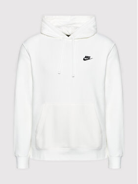 Nike Nike Bluza Sportswear Club Fleece BV2854 Biały Standard Fit