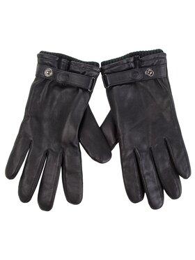 Ugg Ugg Pánské rukavice M Leather Belted Glove 17455 Černá