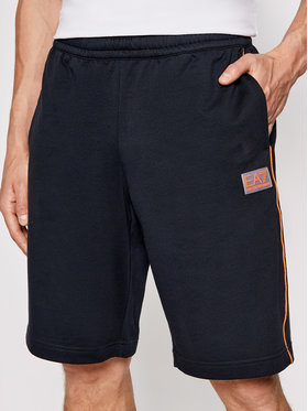 EA7 Emporio Armani EA7 Emporio Armani Sportske kratke hlače 3KPS55 PJ05Z 1578 Tamnoplava Regular Fit