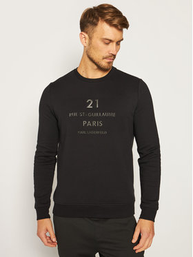 KARL LAGERFELD KARL LAGERFELD Sweatshirt Sweat 705042 502950 Noir Regular Fit