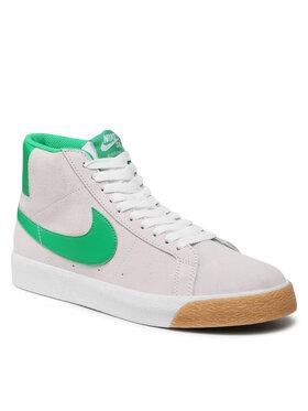 Nike Nike Buty Sb Zoom Blazer Mid 864349-106 Biały