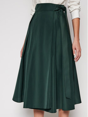 Weekend Max Mara Weekend Max Mara Jupe trapèze Sacha 51010317 Vert Regular Fit