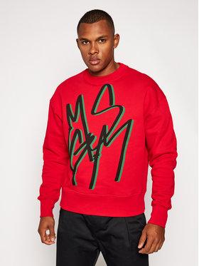MSGM MSGM Bluză 2940MM92 207599 Roșu Regular Fit