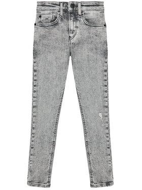 Calvin Klein Jeans Calvin Klein Jeans Blugi IB0IB00743 Gri Super Skinny Fit