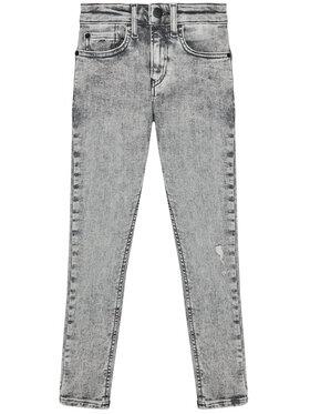 Calvin Klein Jeans Calvin Klein Jeans Jeansy IB0IB00743 Szary Super Skinny Fit