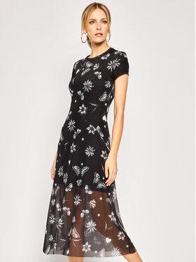 Desigual Desigual Každodenní šaty Austin 20SWVK68 Černá Slim Fit