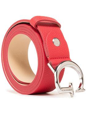 Guess Guess Dámský pásek Corily Belts BW7451 VIN35 Červená