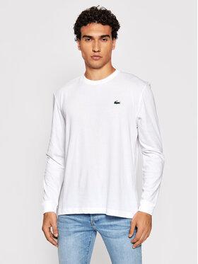 Lacoste Lacoste Marškinėliai ilgomis rankovėmis TH0123 Balta Classic Fit