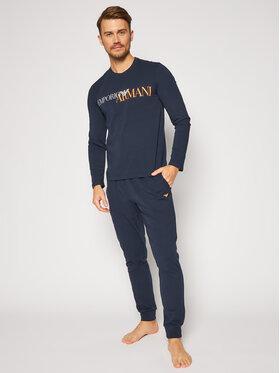 Emporio Armani Underwear Emporio Armani Underwear Pyžamo 111907 0A516 00135 Tmavomodrá