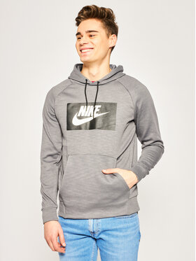 Nike Nike Mikina Optic Fleece BV2989 Šedá Regular Fit