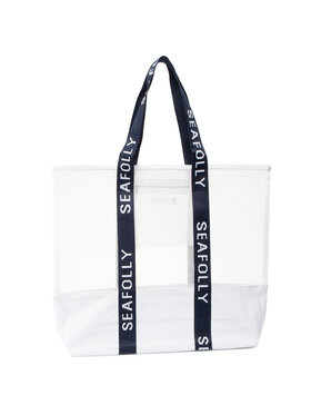 Seafolly Seafolly Rankinė Carried Away 71581-BG Balta