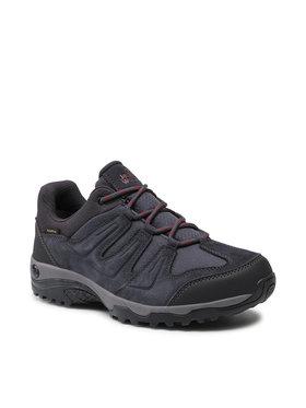 Jack Wolfskin Jack Wolfskin Trekingová obuv Traction 2 Texapore Low 4033891 6244075 Čierna